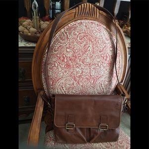 Hide design Genuine Leather satchel 💼